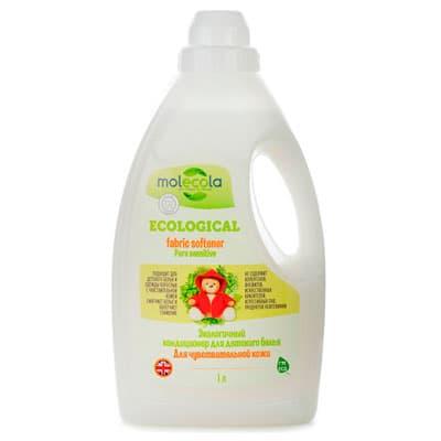 Кондиционер для детского белья Molecola для чувствительной кожи экологичный 1 л фото
