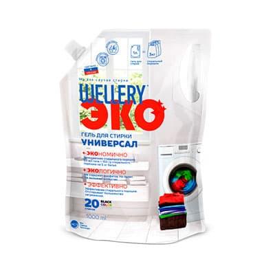Гель Wellery Эко универсальный дой-пак 1 литр фото