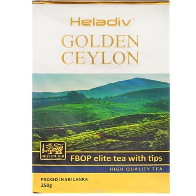 Heladiv golden ceylon fbop elite tea with Tips 250 гр