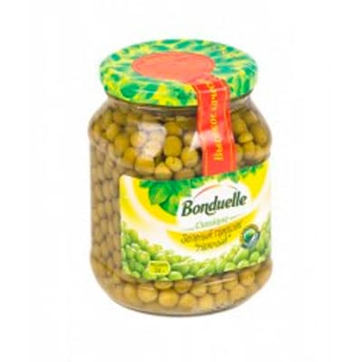 Горошек Bonduelle зеленый 530 гр