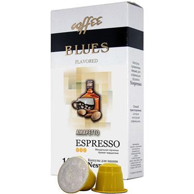 Кофе в капсулах Blues Амаретто (10шт.) фото