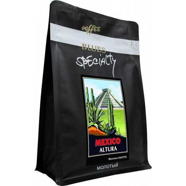 Кофе Blues Мексика Альтура молотый в/у 200 гр