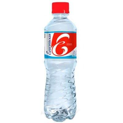 Елисеевская артезианская 0.5 литра, газ, пэт, 12шт. в уп.