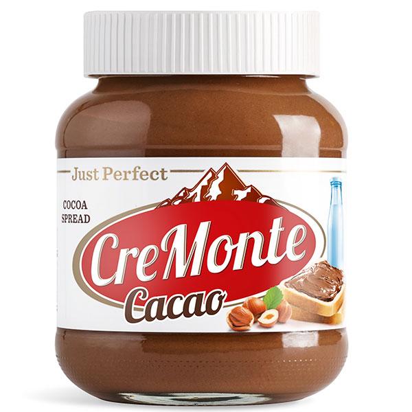 Паста ореховая с добавлением какао CreMonte 400 гр