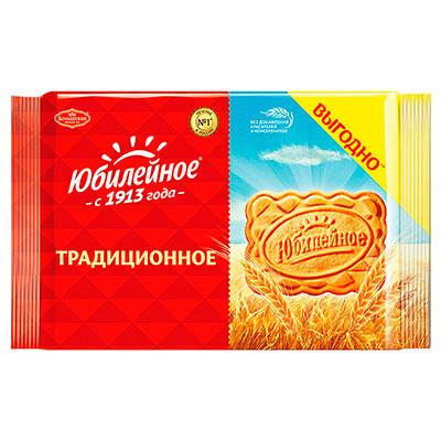 """Печенье """"Юбилейное"""" традиционное 313г. (1шт.) фото"""