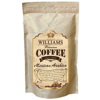 Кофе Williams Mexican Arabica зерно в/у (200гр)