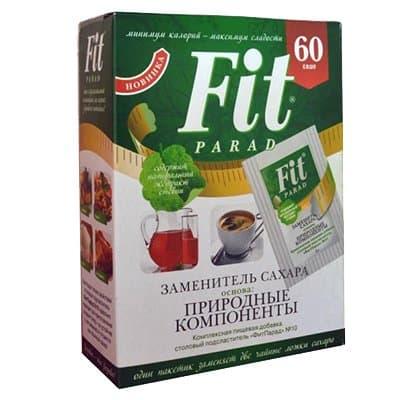 Заменитель сахара Fit Parad №7 (60шт)