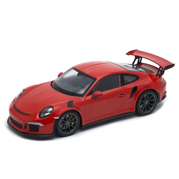 Модель машины Porsche 911 GT3 RS красный масштаб 1:24 фото