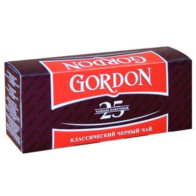Чай Gordon классический (25 пак.)