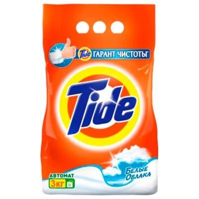 Стиральный порошок Tide Автомат Белые облака 3кг (1шт.)
