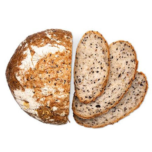 Хлеб 4 злака с семенами льна и овсяными хлопьями Ферма М2 500 гр