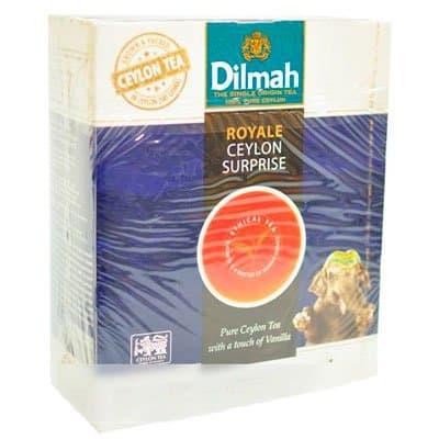 Dilmah / Дилма оригинал с ванилью (100пак)