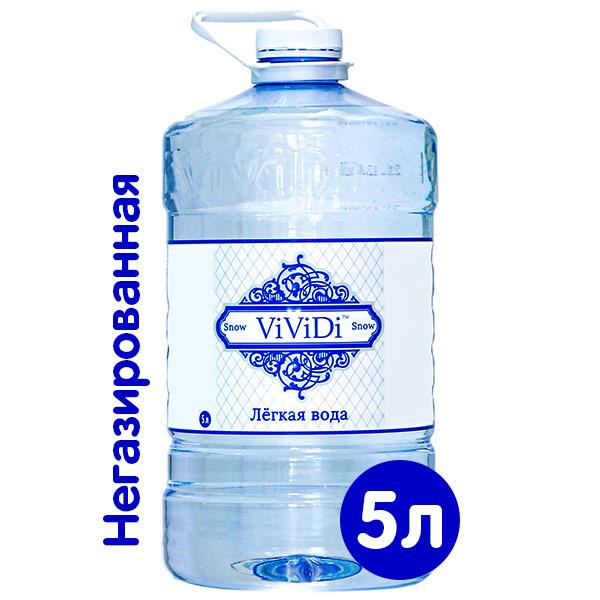 Легкая вода ViViDi Snow 5 литров, 2 шт. в уп. фото