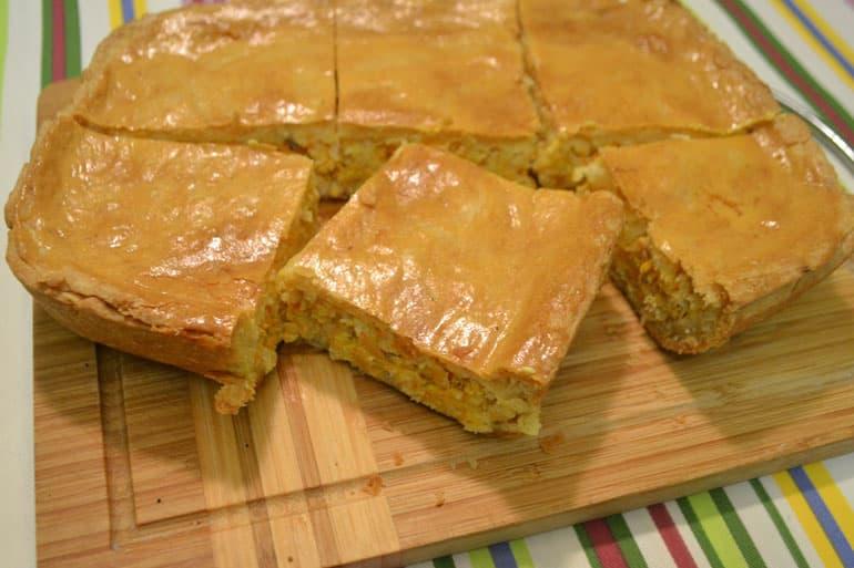 рецепт рассыпчатого теста для пирога