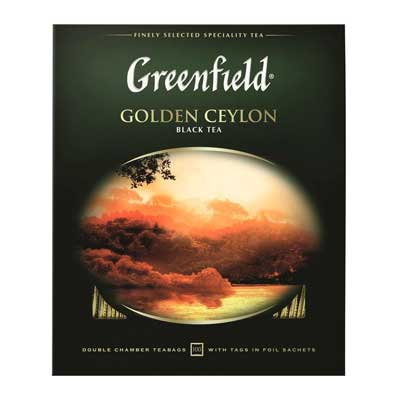 Greenfield / Гринфилд Golden Ceylon (100пак) фото