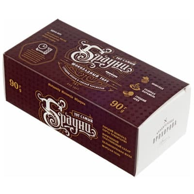 Торт Прохоров брауни 90 гр.