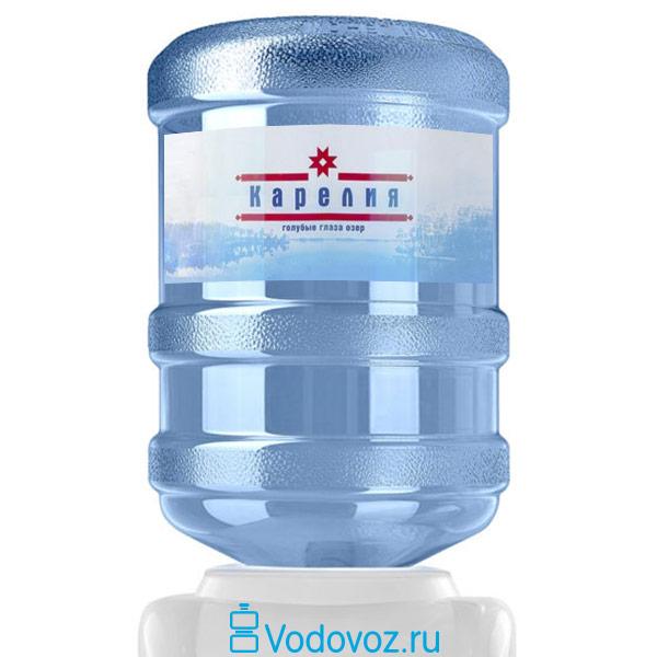 Вода Карелия 19 литров фото