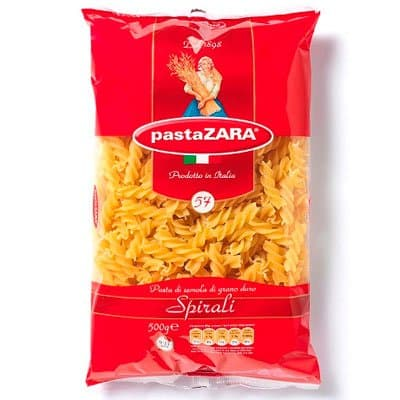 Макароны Pasta Zara пружинки №61 500г
