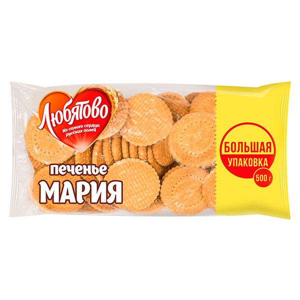 Печенье Любятово Мария 500 гр