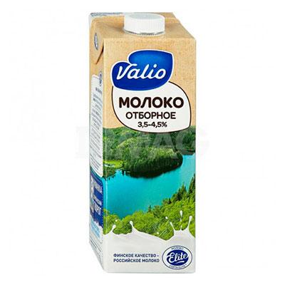 Молоко Valio отборное 3,5-4.5% БЗМЖ 1 литр, 12 шт. в уп. фото