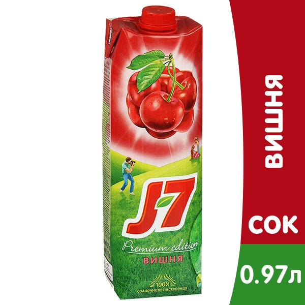 J7 / Джей Севен Вишня 0,97л (12шт.) фото