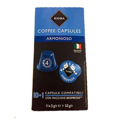 Кофе в капсулах Rioba Armonioso (10шт)