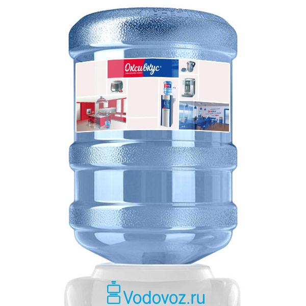 Вода Оксивкус 19 литров фото