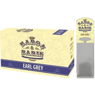 Чай саше для чайника Baron&Barin Earl Grey (15 пак)