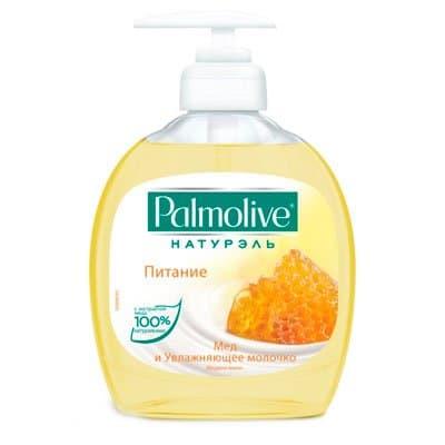 Жидкое мыло Palmolive мед и увлажняющее молочко 300мл