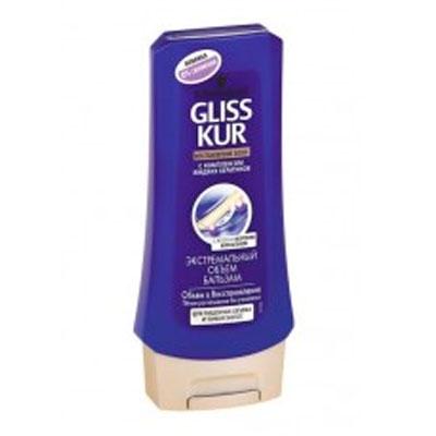 Купить со скидкой Бальзам для волос Gliss Kur экстра объем 200мл