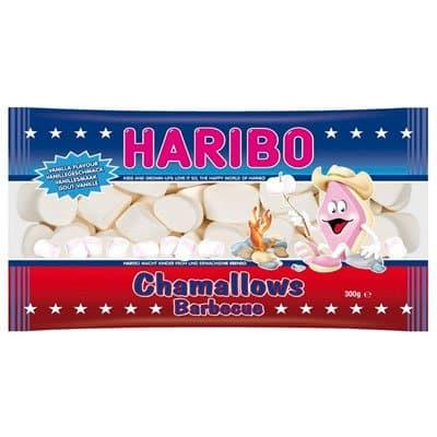 Зефир Haribo / Харибо Chamallows Barbecue Шемеллоус Барбекю 300гр