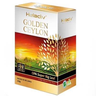 Heladiv golden ceylon Opa Super Big Leaf 250 гр