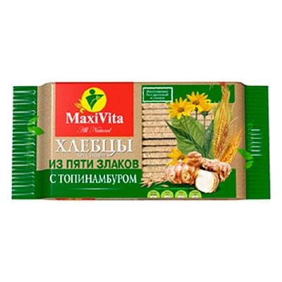 Хлебцы с топинамбуром MaxiVita Полезноff 150 гр
