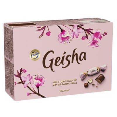 """Конфеты """"Geisha от Fazer"""" шоколадные 150г  (1шт.)"""