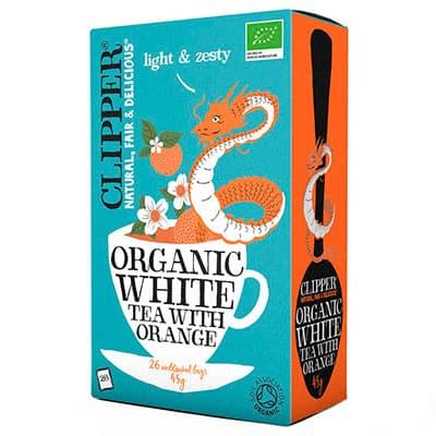 Чай Clipper белый с апельсином Органик 26 пак