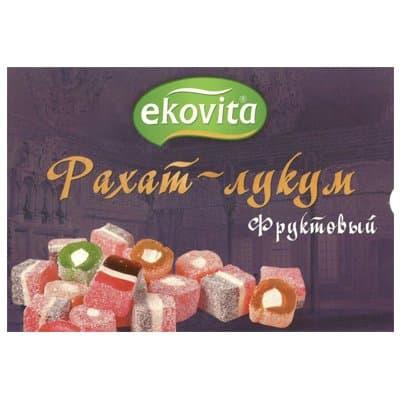 Рахат-Лукум Ekovita фруктовый 225гр