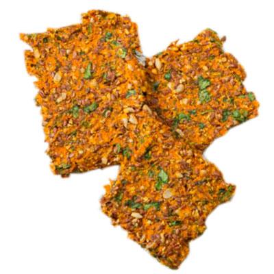Хлебцы морковно-льняные (Ферма Васильева С.) 60 гр
