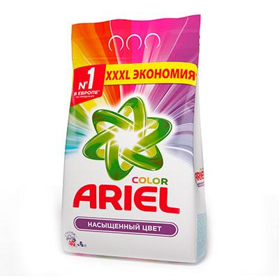 Стиральный порошок Ariel Color автомат 6 кг фото