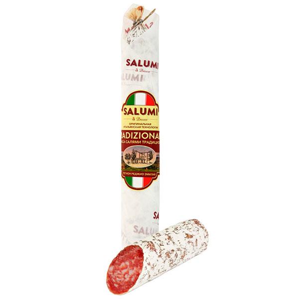 Колбаса сыровяленая полусухая «Салями Традиционная» Salumi di Bosco 200 гр