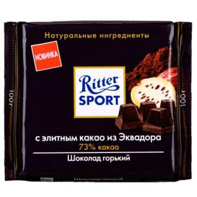 Шоколад Ritter Sport 73% горький 100 гр