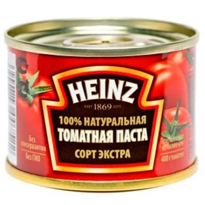 Томатная паста Heinz 70 гр 3 шт фото