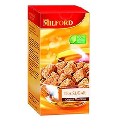 Сахар коричневый тростниковый Милфорд кусковой 500гр