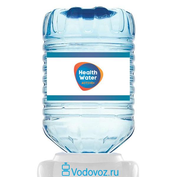 Вода Health Water Active+ 18.9 литров в одноразовой таре фото