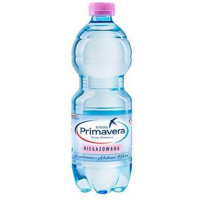 Вода Primavera 0.5 литра, без газа, пэт, 6шт. в уп.