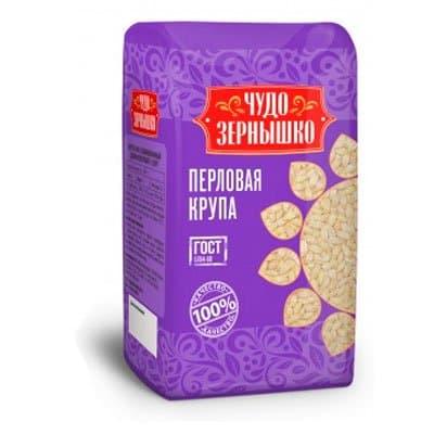 Крупа перловая Чудо Зернышко 800 гр
