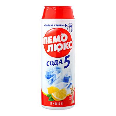 Чистящий порошок Пемолюкс лимон 480 гр фото