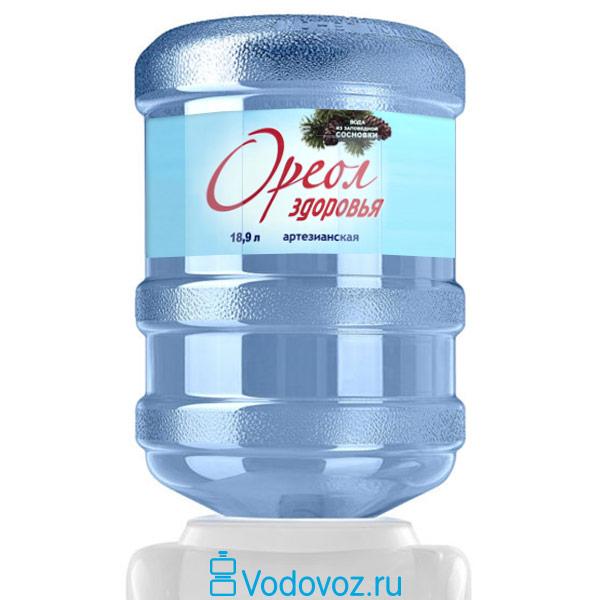 Вода Ореол здоровья 18.9 литров фото