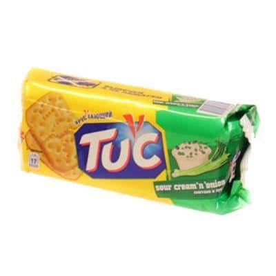 """Крекер """"Тuc"""" сметана и лук 100г"""