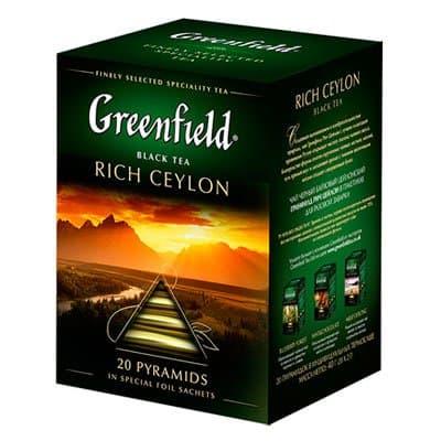 Greenfield / Гринфилд Rich Ceylon 20 пир фото