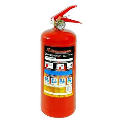 Огнетушитель Ярпожинвест порошковый 2 литра фото